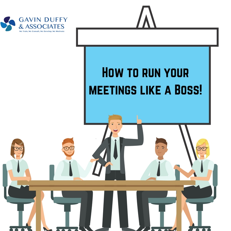 How to Run your Meetings Like a Boss