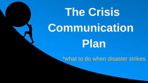 Crisis Communication Plan Graphic